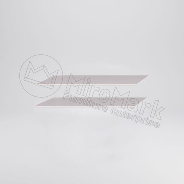 ШАФА-КУПЕ 2,5м Полиці  Великі  (2 шт)