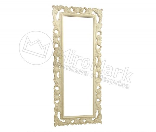 Decorative frame Lara, unpainted