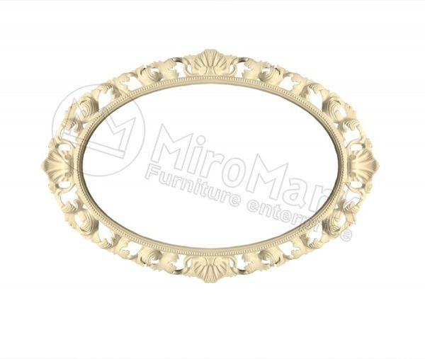 Decorative frame Odagio, unpainted