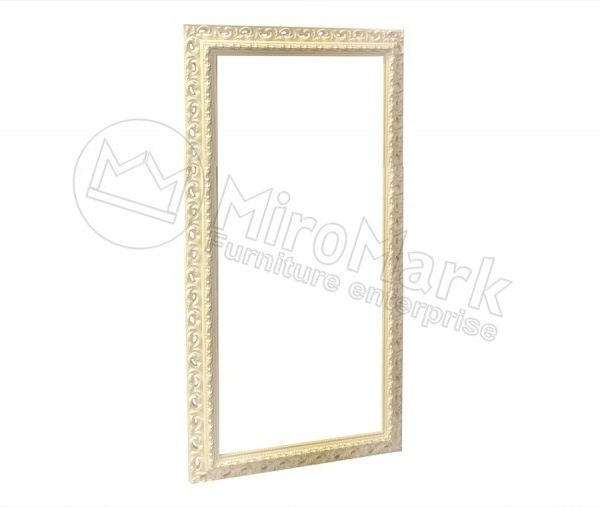 Decorative frame Mirage, unpainted