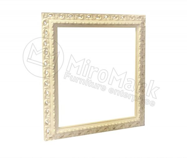 Decorative frame Versal, unpainted