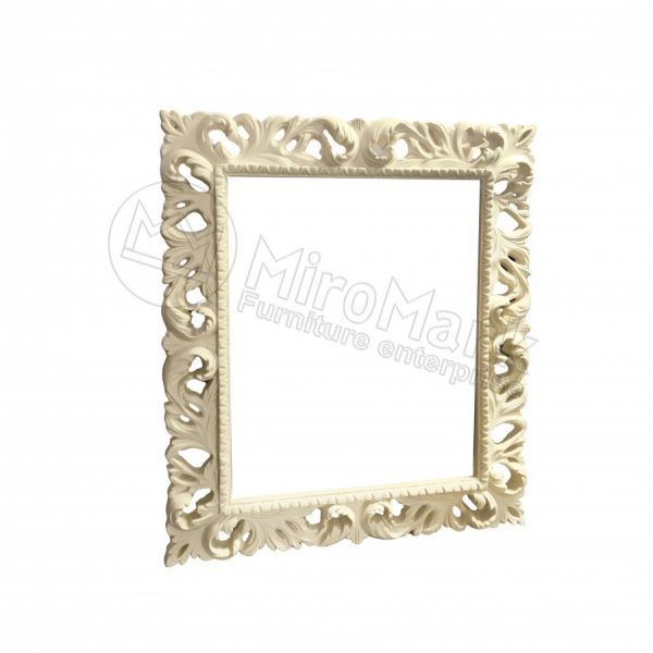 Decorative frame Pionia 1000х800, unpainted