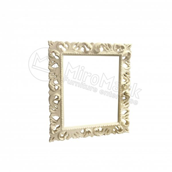 Decorative frame Pionia 1200х1000, unpainted