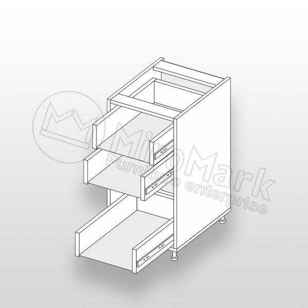 Lower section 40L 3D/820