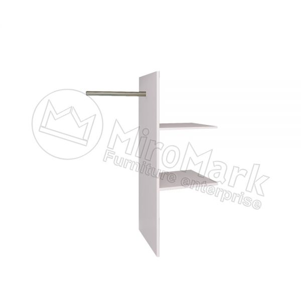 Sl.-dr 2,5m wardrobe T-shaped Shelves
