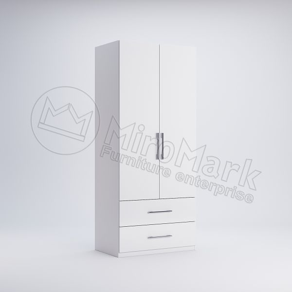 Wardrobe with 2 doors 2 drawers