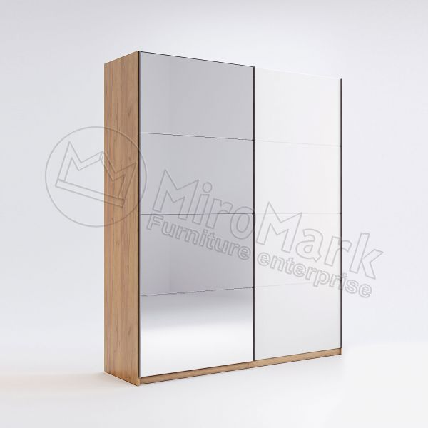 Wardrobe with sliding doors 1,5m
