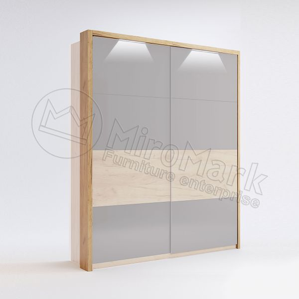 Sl.-dr 1,5m wardrobe Cornice with Backlight