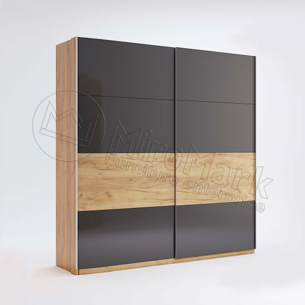 Wardrobe with sliding doors 2,0m