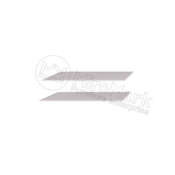 ШАФА-КУПЕ 2,0м Полиці Великі (2 шт)