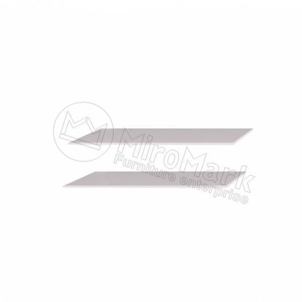 ШАФА-КУПЕ 2,5м Полиці  Великі (2шт)