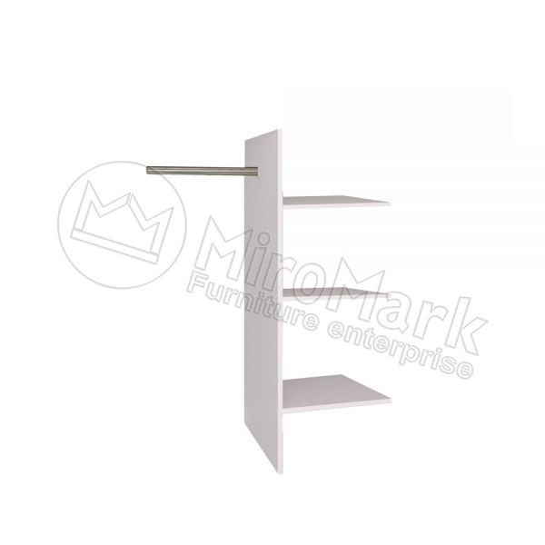 3+4+6-door wardrobe  T-shaped Shelves