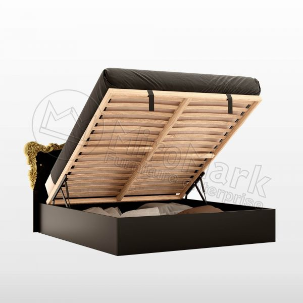 Bed 1,8x2,0 with lift, with frame